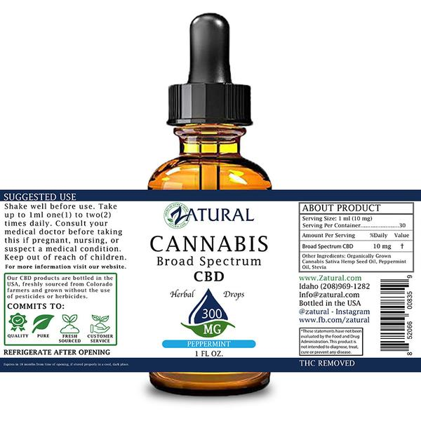 Zatural CBD for pain and inflamation